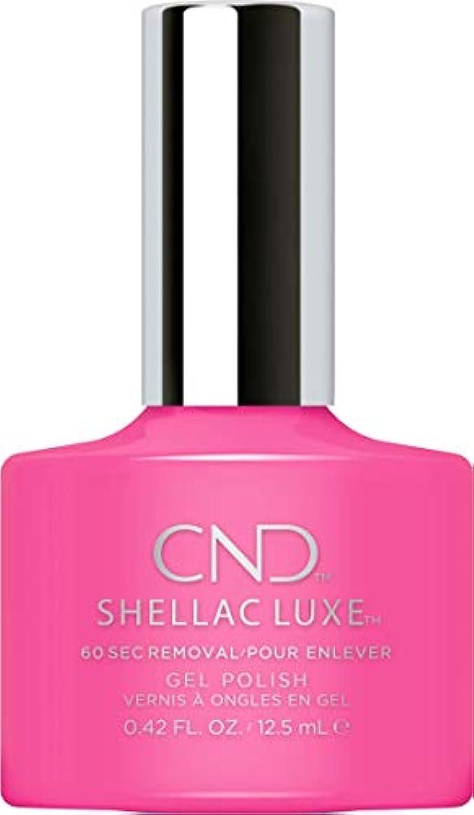 痴漢エゴイズム年金CND Shellac Luxe - Hot Pop Pink - 12.5 ml / 0.42 oz