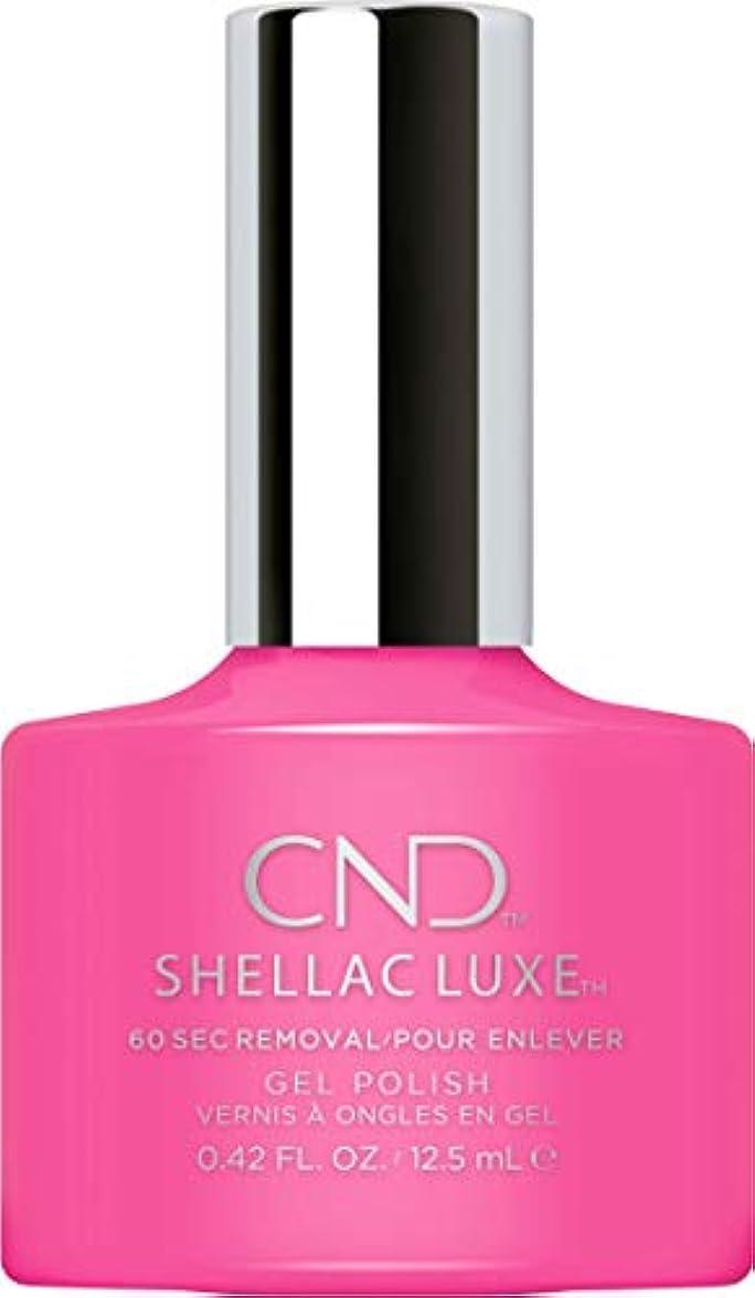 ストライクアンデス山脈ためにCND Shellac Luxe - Hot Pop Pink - 12.5 ml / 0.42 oz