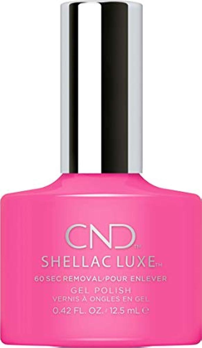 拳首尾一貫したトリクルCND Shellac Luxe - Hot Pop Pink - 12.5 ml / 0.42 oz