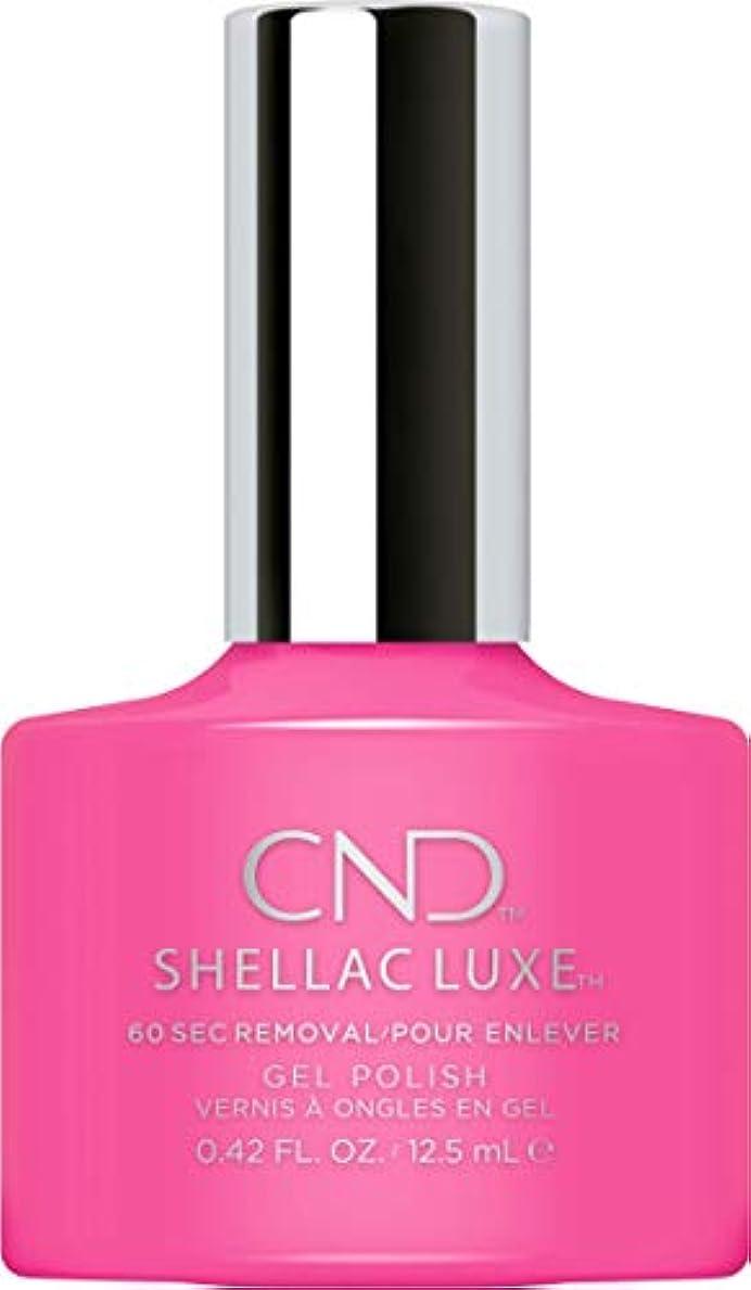 発症モード時々時々CND Shellac Luxe - Hot Pop Pink - 12.5 ml / 0.42 oz