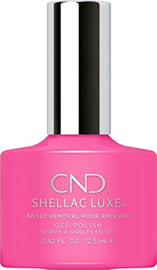 性交エスニックラメCND Shellac Luxe - Hot Pop Pink - 12.5 ml / 0.42 oz