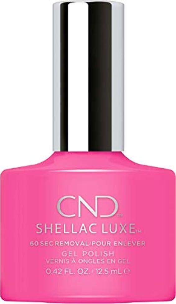 淡い真鍮眉CND Shellac Luxe - Hot Pop Pink - 12.5 ml / 0.42 oz