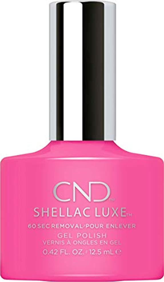 カスケードレイプ手配するCND Shellac Luxe - Hot Pop Pink - 12.5 ml / 0.42 oz
