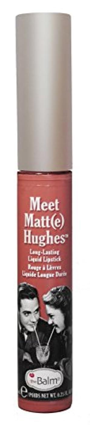 ピカソスコットランド人最もザバーム ミート マット ヒューズ ロングラスティング リキッド リップ スティック Doting