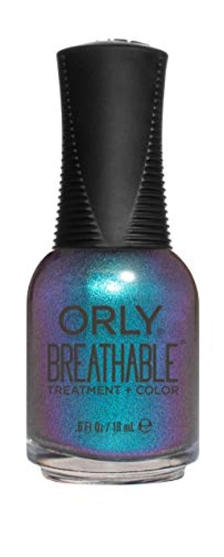 枯渇剣平らにするORLY Breathable Lacquer - Treatment+Color - Freudian Flip - 18 mL / 0.6 oz