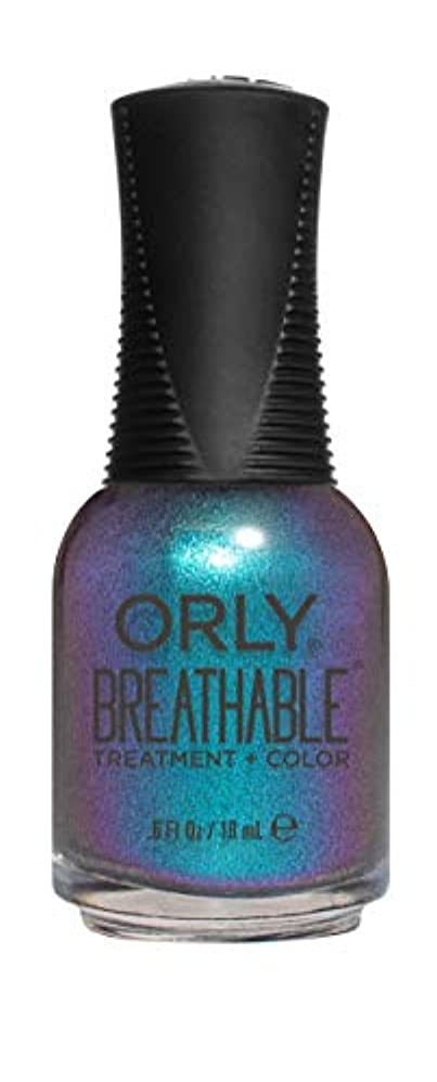休戦過度に悪意のあるORLY Breathable Lacquer - Treatment+Color - Freudian Flip - 18 mL / 0.6 oz