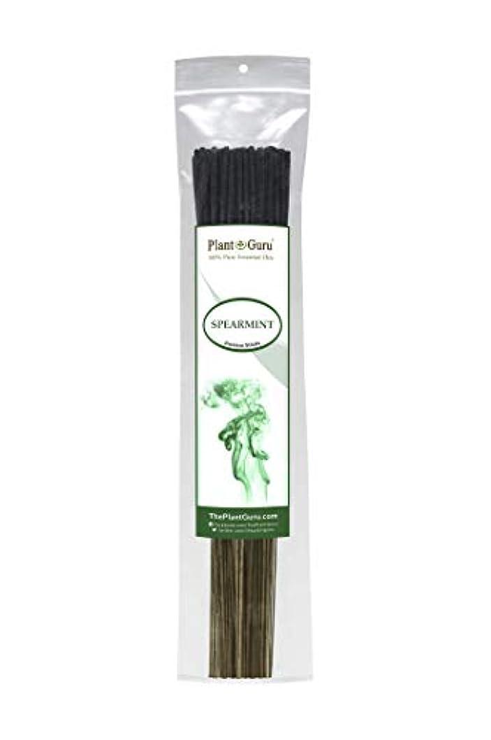 見捨てられた分割間に合わせ植物グルスピアミント線香 各束185グラム 85~100本入り プレミアム品質 滑らかで清潔 各スティックの長さは10.5インチ 燃焼時間はそれぞれ45~60分