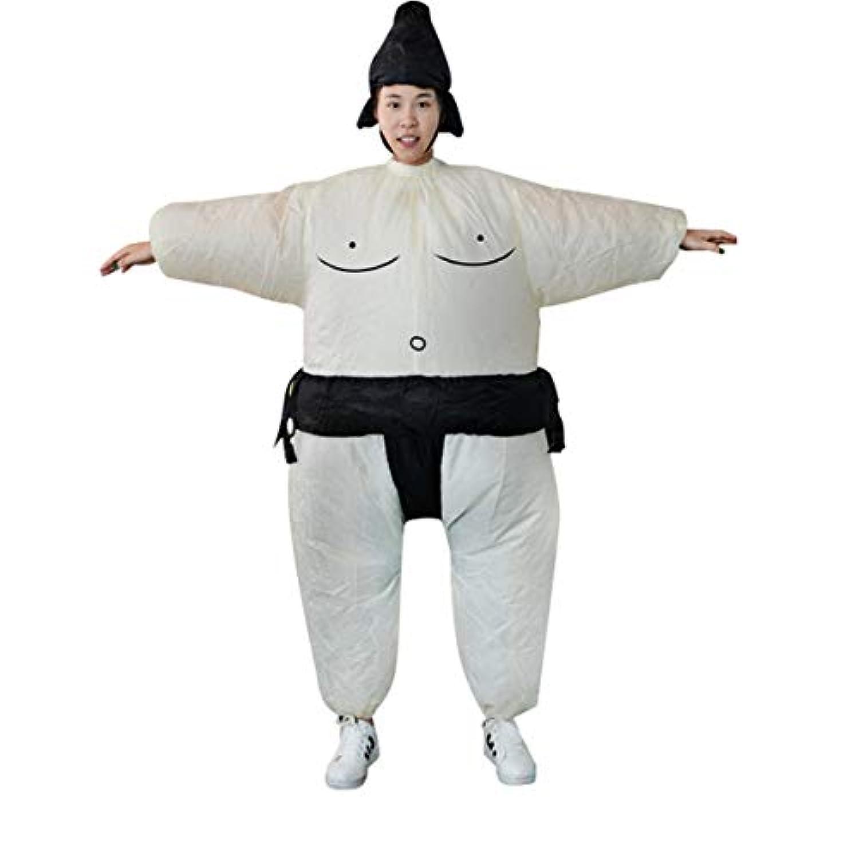 Saikogoods ファンインフレータブル相撲ドレスノベルティデブ男と女スイート脂肪仮装スーツファンシーブローアップドレスレスラー衣装