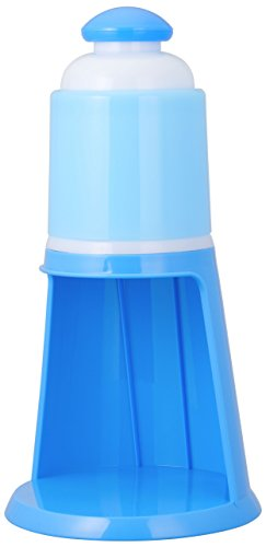 ドウシシャ 電動氷かき氷機 ブルー DIN-1752B