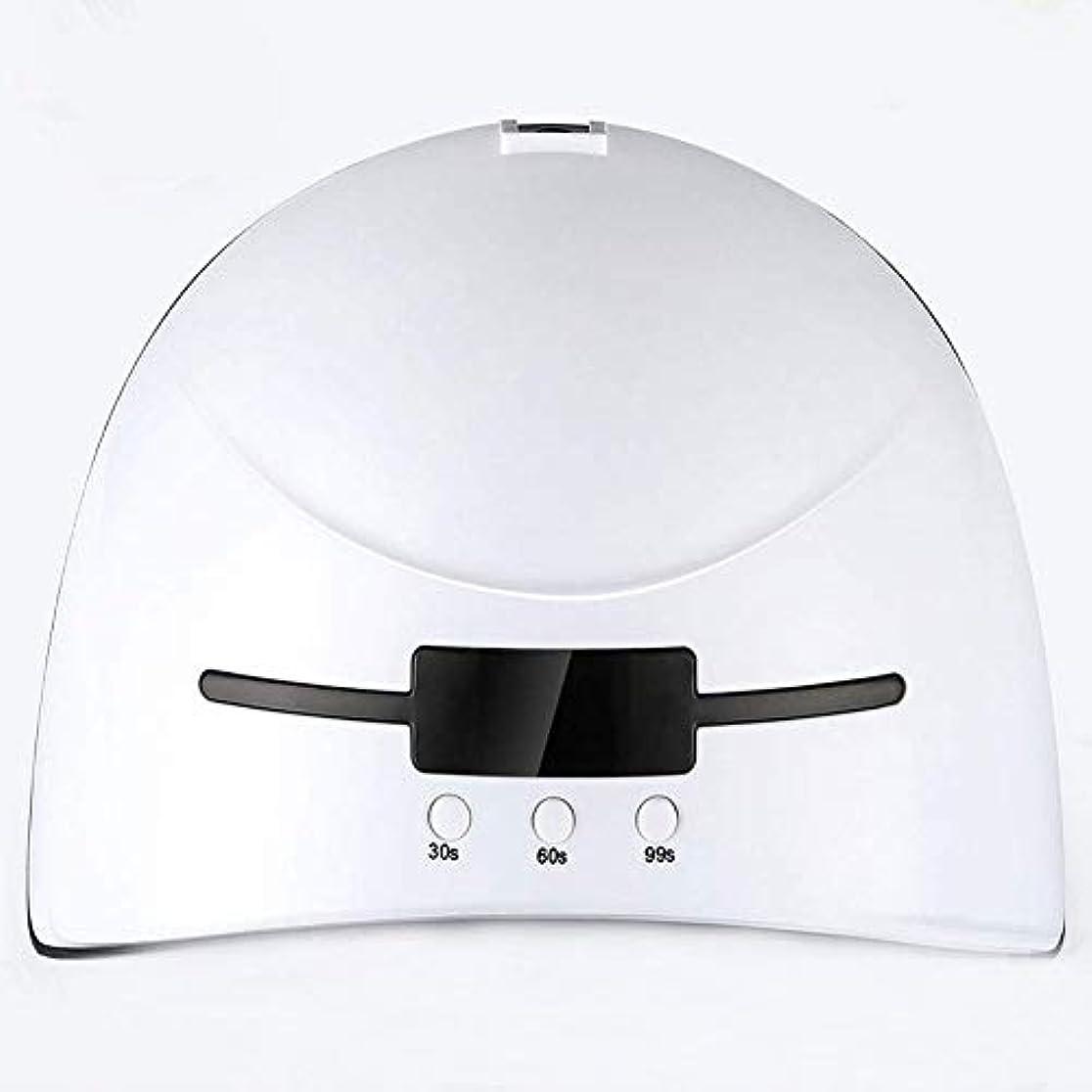 次系統的リス36Wスマートベルト誘導ネイルオイルのり乾燥機LED + UVネイル光線療法ランプネイルマシンクイックドライ