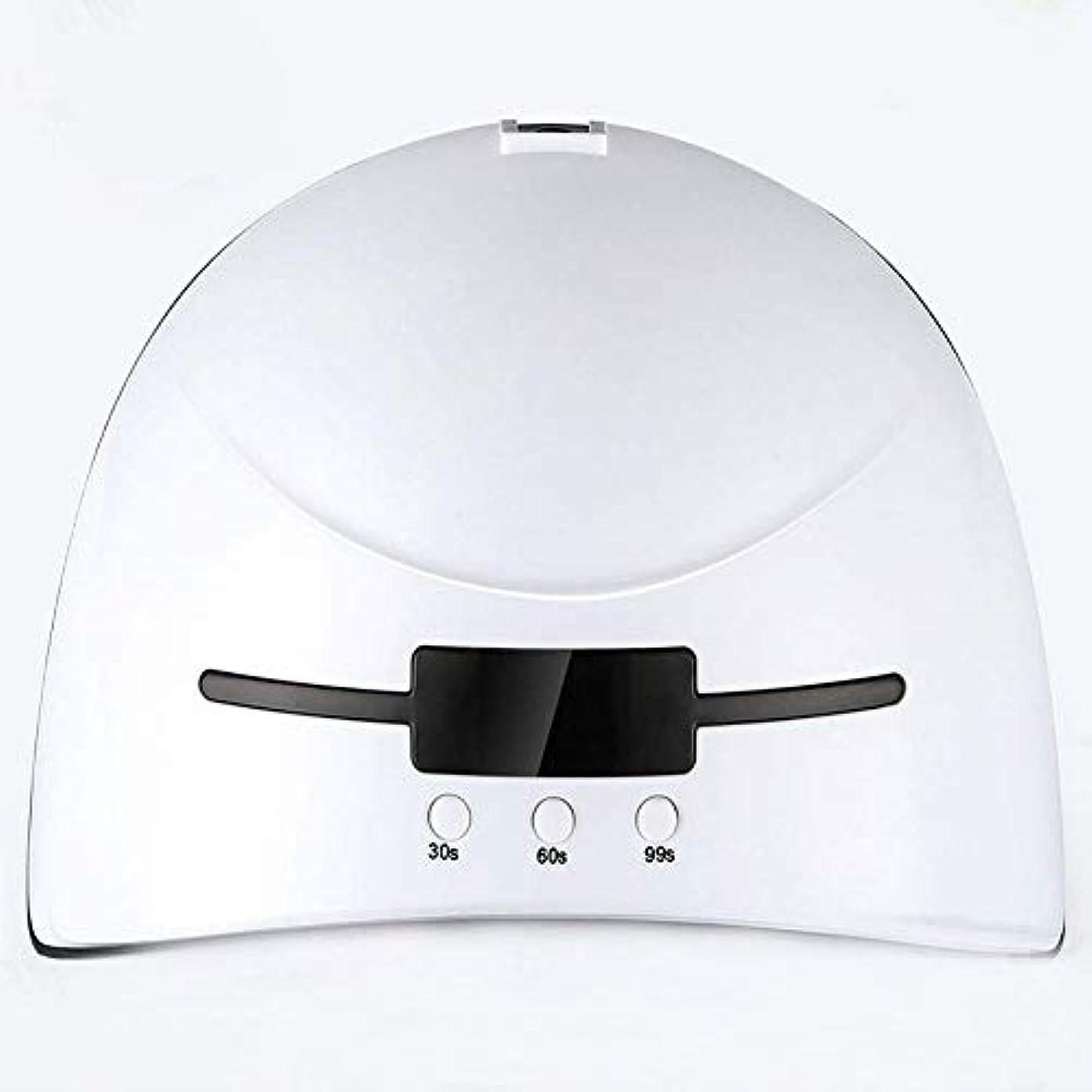 リス面積呼吸する36Wスマートベルト誘導ネイルオイルのり乾燥機LED + UVネイル光線療法ランプネイルマシンクイックドライ