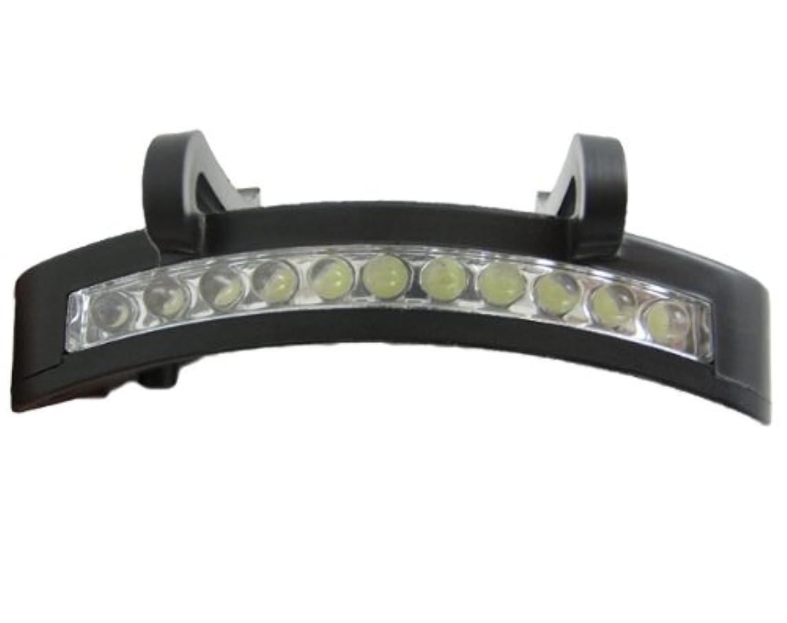 ナンセンスひねりそれぞれキャップライト LED 手軽に使える 夜間?暗所作業 防災 アウトドア ウォーキング 夜道 など幅広く活躍