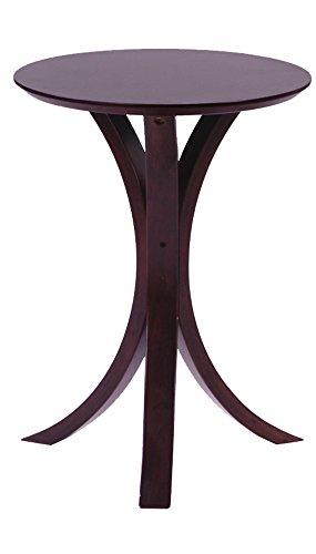 AZUMAYA サイドテーブル ブラウン色 NET-410BR