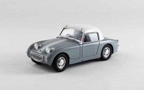 EBBRO 1/43 Austin Healey Sprite MK1Rhd with white hard top (GRAY)