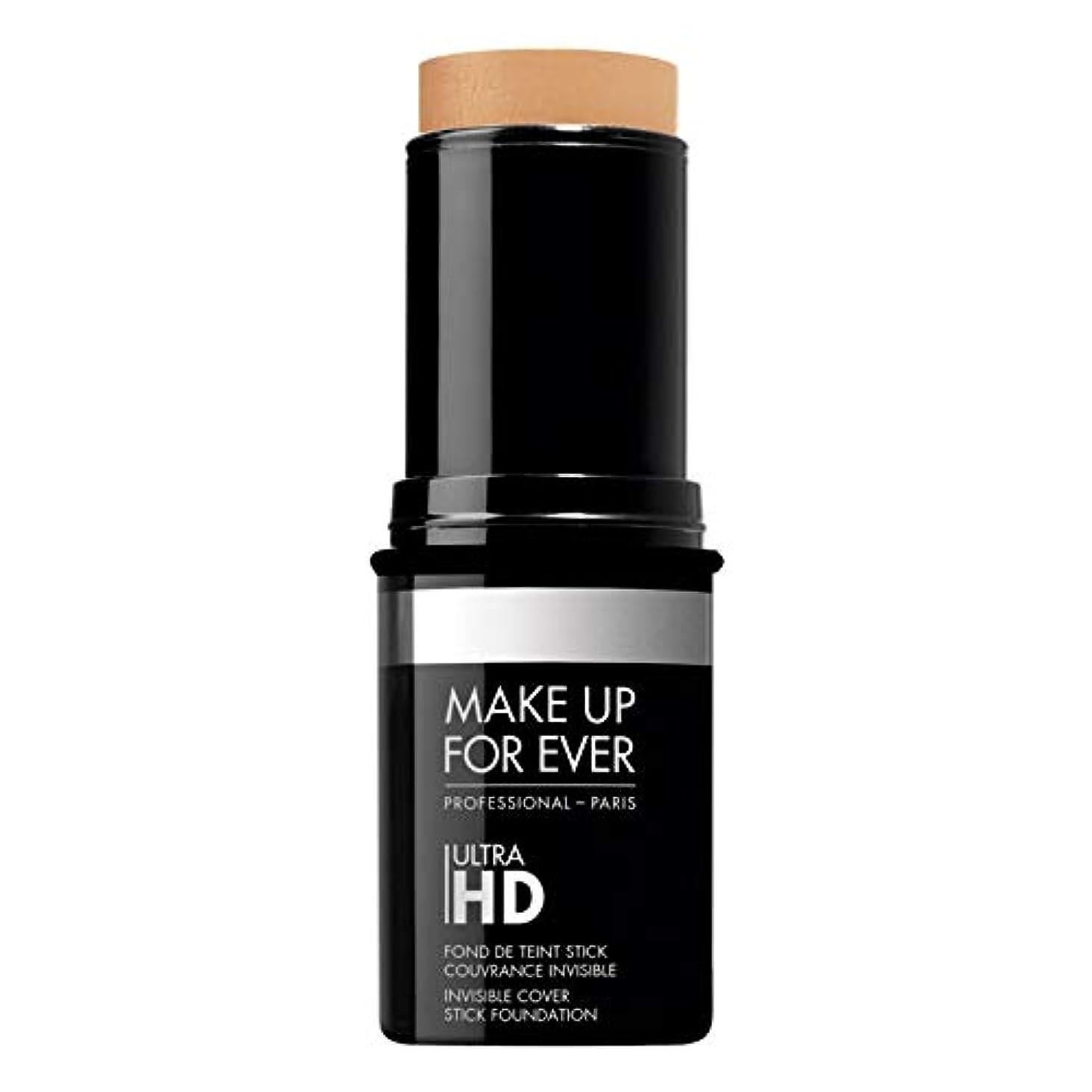 忌み嫌う哲学ネコメイクアップフォーエバー Ultra HD Invisible Cover Stick Foundation - # Y375 (Golden Sand) 12.5g/0.44oz並行輸入品
