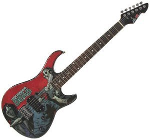 Peavey Walking Dead Michonne Slash Rockmaster Electric Guitar おもちゃ (並行輸入)
