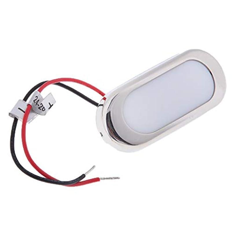 スポークスマンお客様魅力的KESOTO LEDライト 礼儀ライト ステンレス鋼製 耐久性 防水 耐腐食 ボート用 長方形