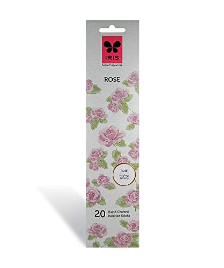 独立して発見不道徳Iris Rose Signature Handcrafted Incense Sticks (Set of 20)