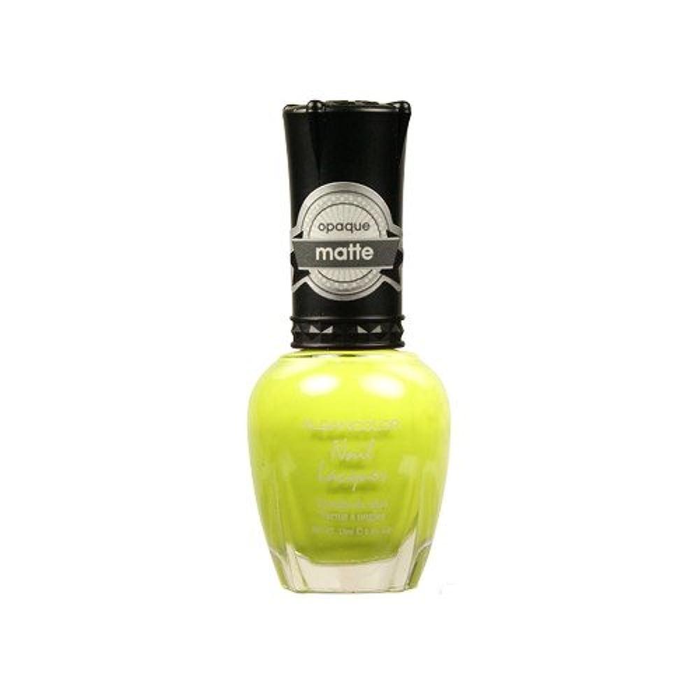 クラフトテキスト(6 Pack) KLEANCOLOR Matte Nail Lacquer - Lime Tickle (並行輸入品)