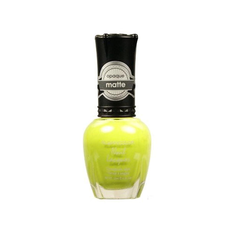解釈的盗難楽な(6 Pack) KLEANCOLOR Matte Nail Lacquer - Lime Tickle (並行輸入品)