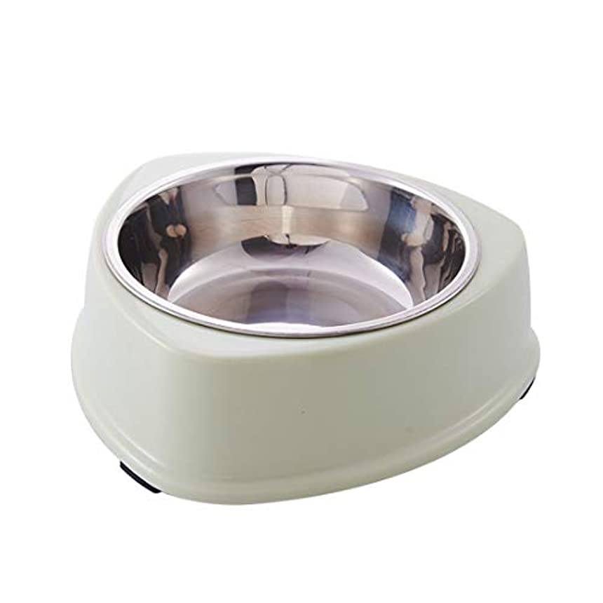 Jiyaru ペット食器 ペットボウル 犬用食器 猫用食器 分離式 小型 中型 犬 猫 ボウル ステンレス製 お餌 ウォーター フード 入れ ペット食器 滑り止め ペット 皿 餌入れ 取り外し可能