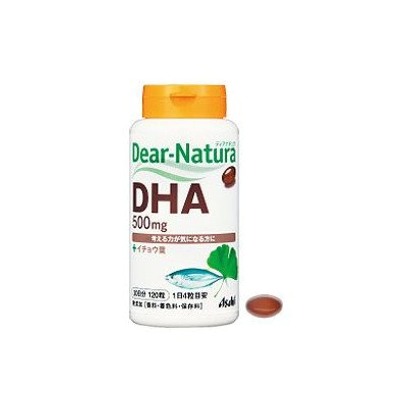 インフラバス吸収剤アサヒ ディアナチュラ DHA with イチョウ葉(240粒) 4箱