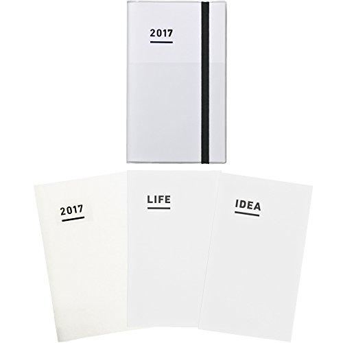 コクヨ ジブン手帳 2017 ファーストキット 11月始まり A5スリム ホワイト ニ-JF1W-17