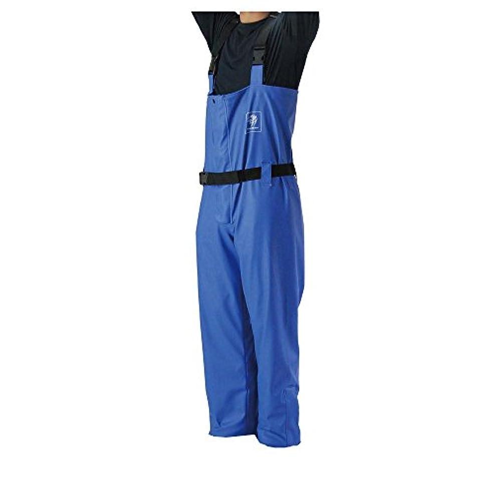 パーティーグリルスムーズにプロマリン(PRO MARINE) PUマリンサロペットパンツ LL WRE710-LL ブルー