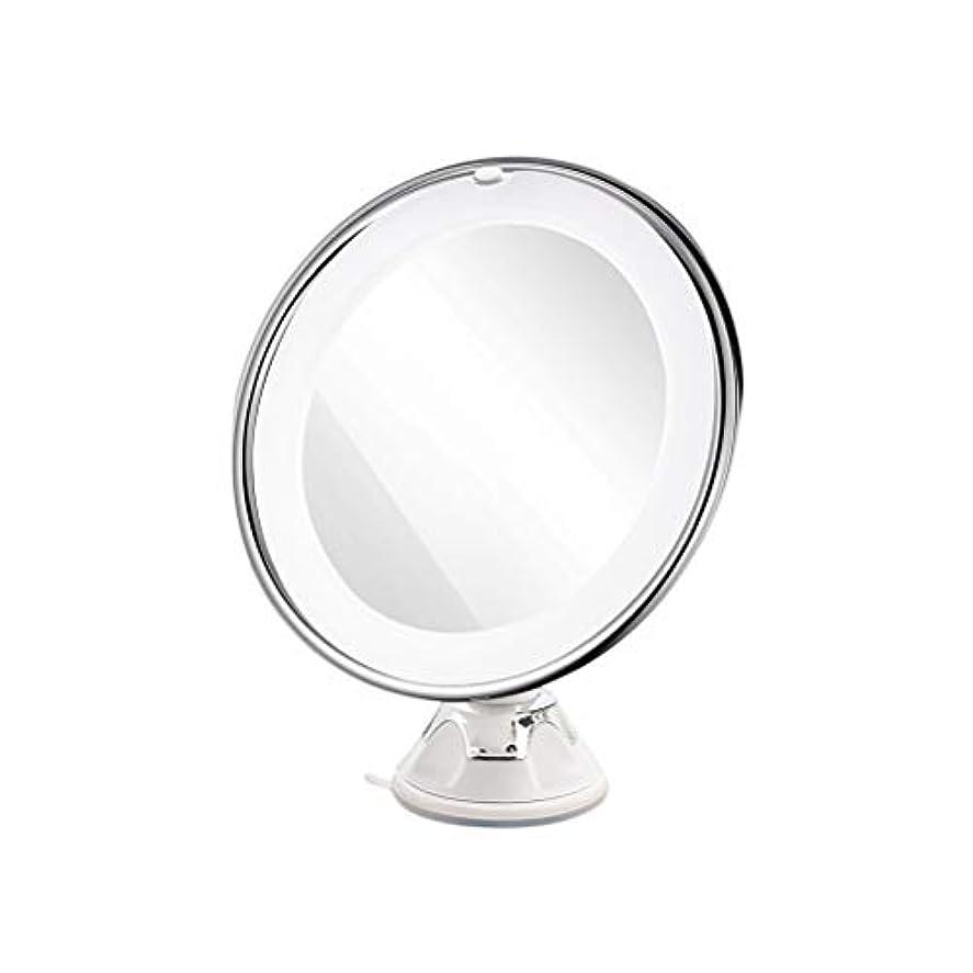 買い手涙独立化粧鏡 ファッション実用的な拡大鏡ミラーラウンドメイクアップ化粧鏡卓上ミラー吸盤付き男性女性