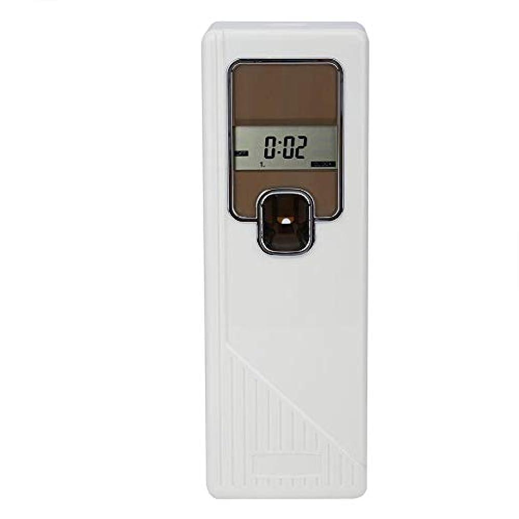 気づかないデザートながらアロマディフューザー 小型消臭器 エアゾールディスペンサー 設定時間 3つの動作モード LCD画面 家、企業の洗面所、居間、寝室、オフィス