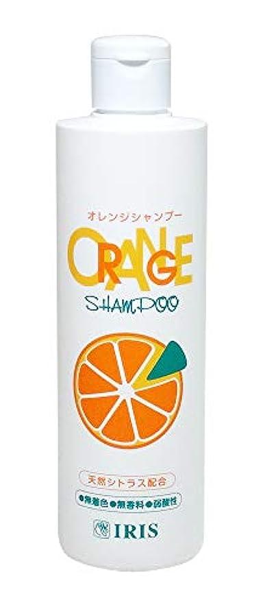 大通り落花生ポータブルアイリス オレンジシャンプー 270ml