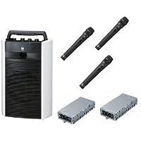TOA 800MHz帯デジタルワイヤレスアンプ/ダイバシティ  WA-2800+WTU-1820X2+WM-1220X3