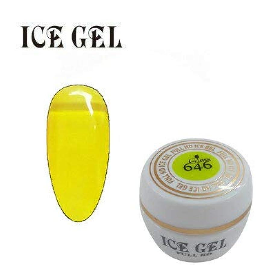 報酬の汚染する無心アイスジェル カラージェル ガラスジェル GG-646 3g