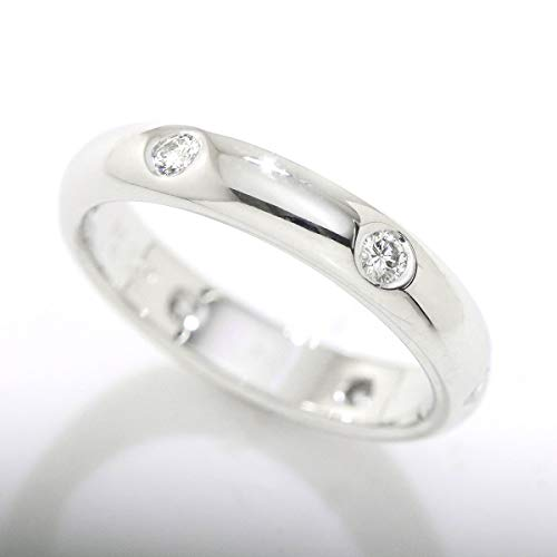 カルティエ Cartier ステラ ダイヤ 6P リング #54 K18WG 18金ホワイトゴールド ダイア 指輪 【中古】 90058001