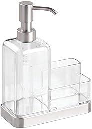 InterDesign Forma 2-Piece Bathroom Set Soap Dispenser and Sponge