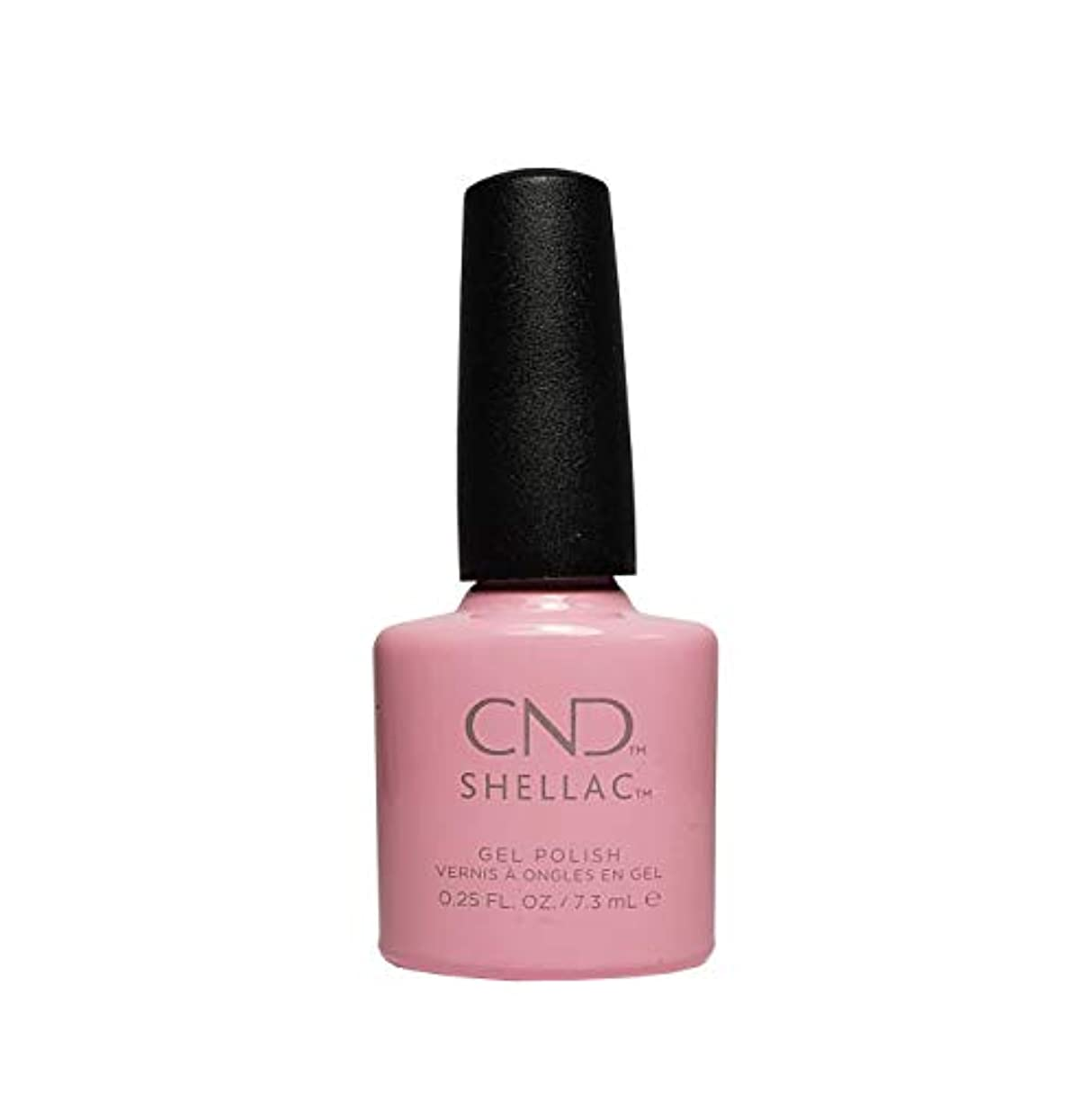 悪因子しょっぱいリスナーCND Shellac Power Polish - Intimates Collection - Blush Teddy