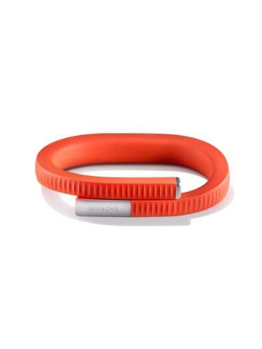 【日本正規代理店品】UP24 by Jawbone ライフログ リストバンド 活動量計 ( アプリ連動 / Bluetooth 同期 / パーシモン / サイズ L ) JL01-16L-JP