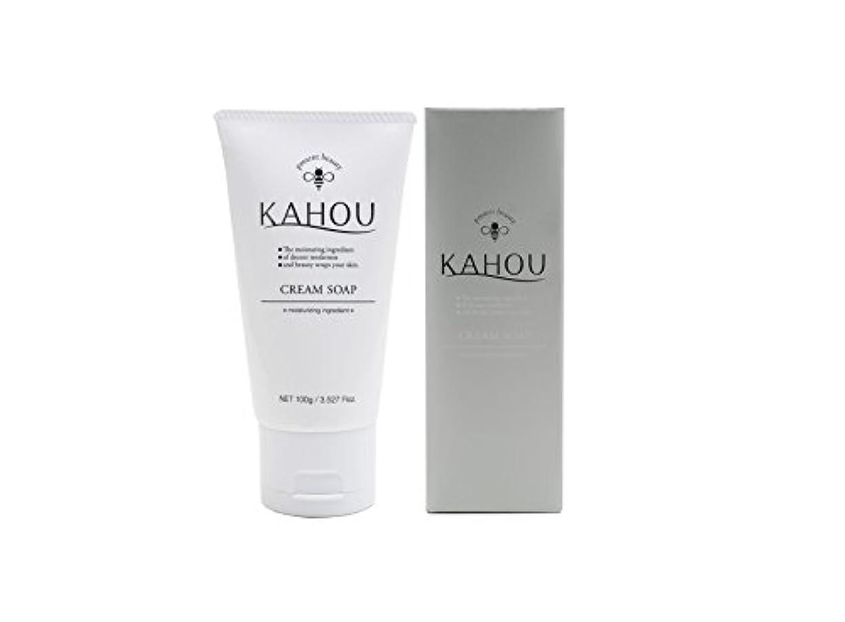 罪人心から列挙するKAHOU はちみつ配合クリームソープ 100g