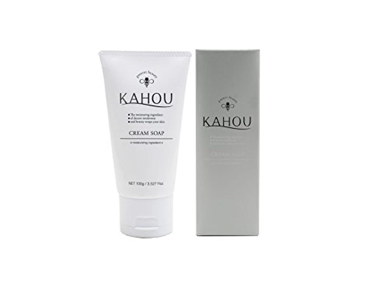 購入プログレッシブ革新KAHOU はちみつ配合クリームソープ 100g