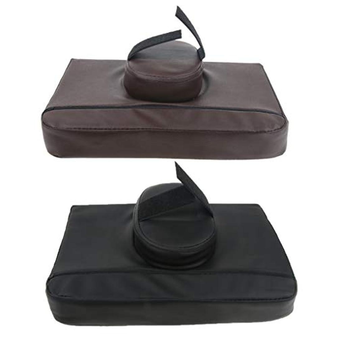 幻想太陽威信CUTICATE マッサージ枕 マッサージピロー スクエア マッサージテーブル用クッション 通気性 快適 実用的 2個