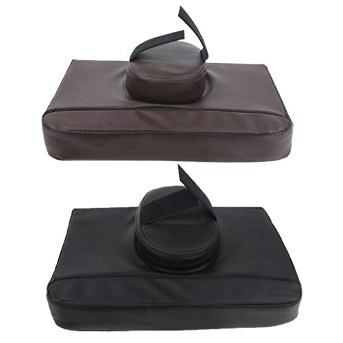 スペード移民ストリップマッサージ枕 マッサージピロー スクエア マッサージテーブル用クッション 通気性 快適 実用的 2個