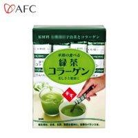 AFC 華舞シリーズ 華舞の食べる緑茶コラーゲン スティックタイプ 45g(1.5g×30本) 5042
