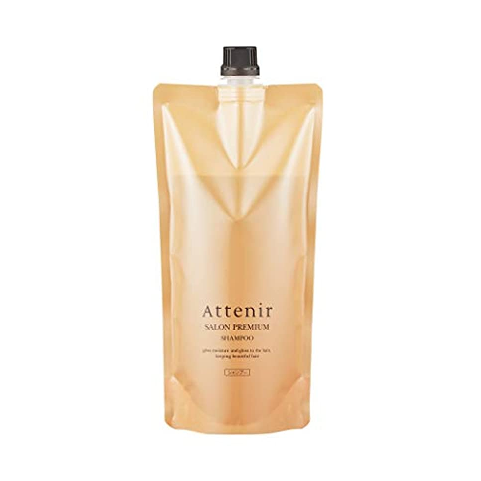 時々ブルジョンなめらかアテニア サロンプレミアム シャンプー グランフローラルの香り レフィル <詰替用> 500ml 毛髪補強成分配合