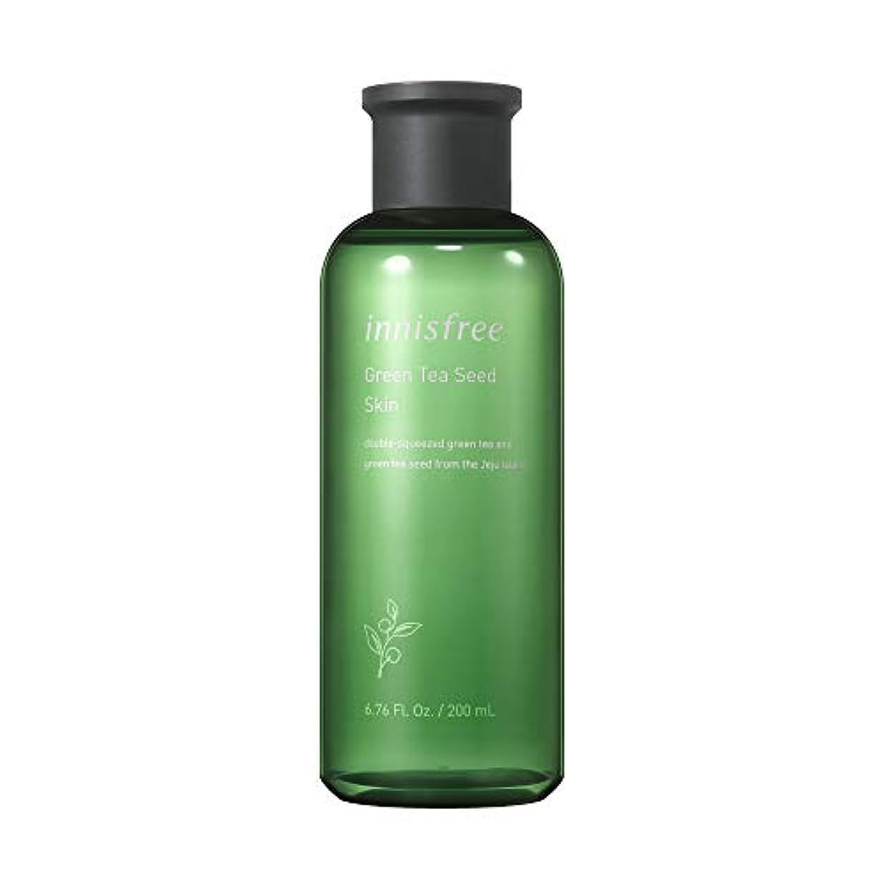 怠けた自動化樹木イニスフリー日本公式(innisfree)グリーンティーシード スキン[化粧水]200mL