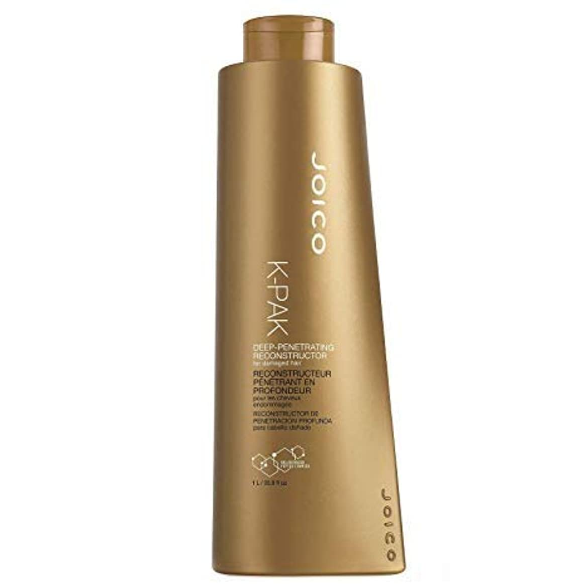 惑星フィドルボウリングジョイコ K-Pak Deep-Penetrating Reconstructor - For Damaged Hair (Cap) 1000ml/33.8oz並行輸入品