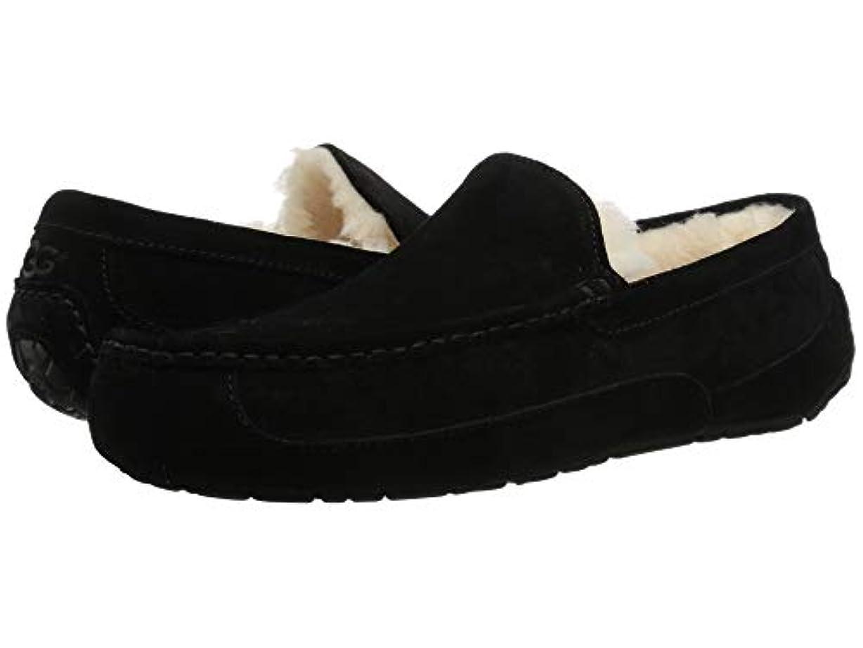 自然矢シリング[UGG(アグ)] メンズローファー?スリッポン?靴 Ascot Black 16 (34cm) D - Medium