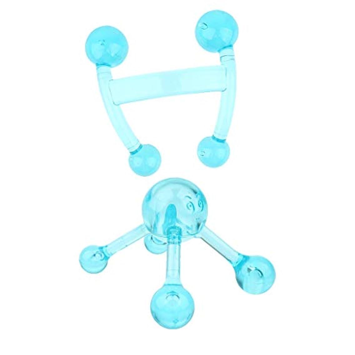 居眠りするレッスン指dailymall 首の肩の弛緩のための2x深いティッシュのマッサージ用具の手持ち型のマッサージャー