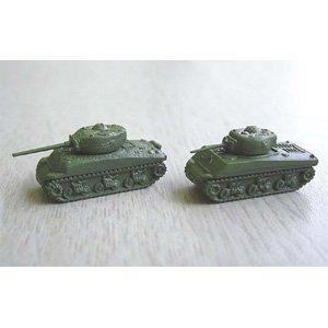 1/350 バトルタンク No.03 アメリカ軍戦車 セットA M4シャーマン/M4A1 76ミリ長砲身