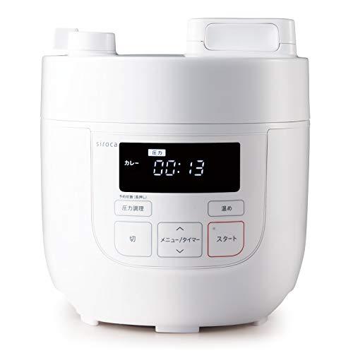 シロカ『電気圧力鍋(SP-D131)』