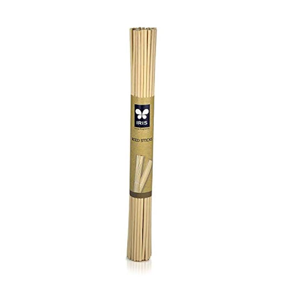 ビル刈る時間Iris Wood Reed Sticks (25.4 cm Long)